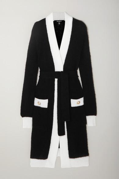 Balmain Black Cardigan