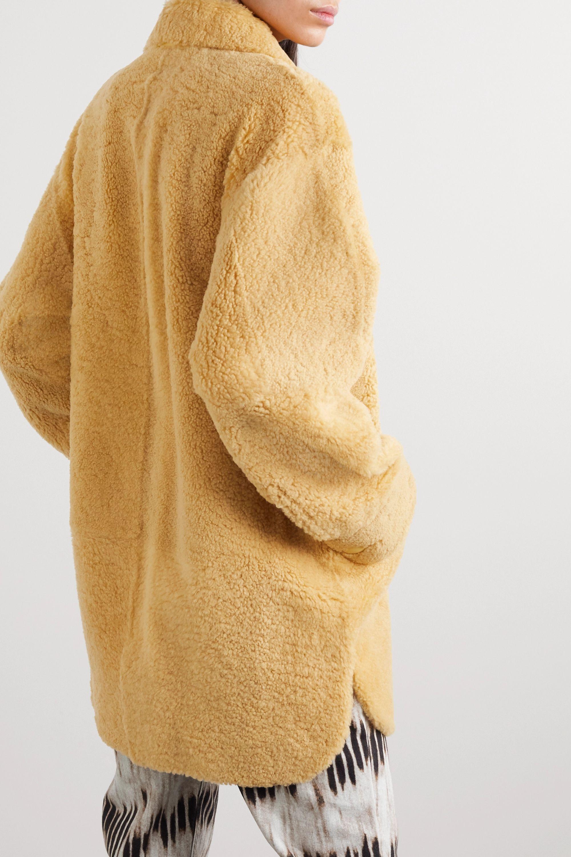 Isabel Marant Sarvey shearling jacket