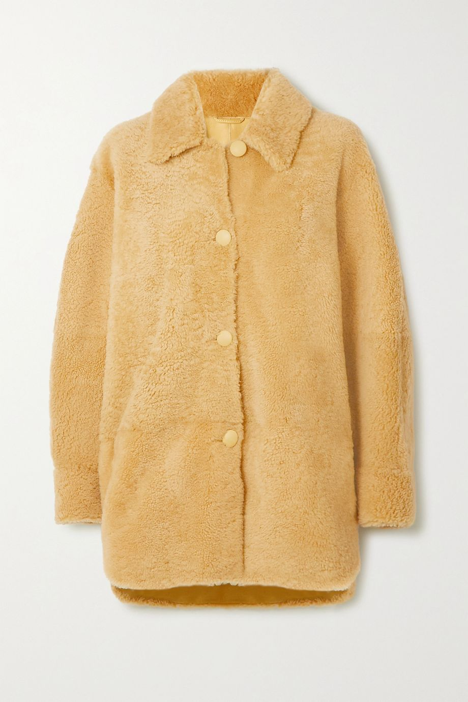 Isabel Marant Sarvey shearling jacket