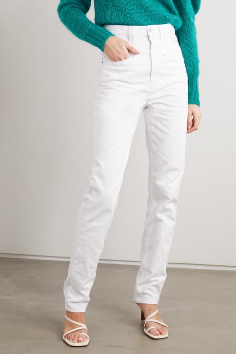 Dominic high-rise straight-leg jeans