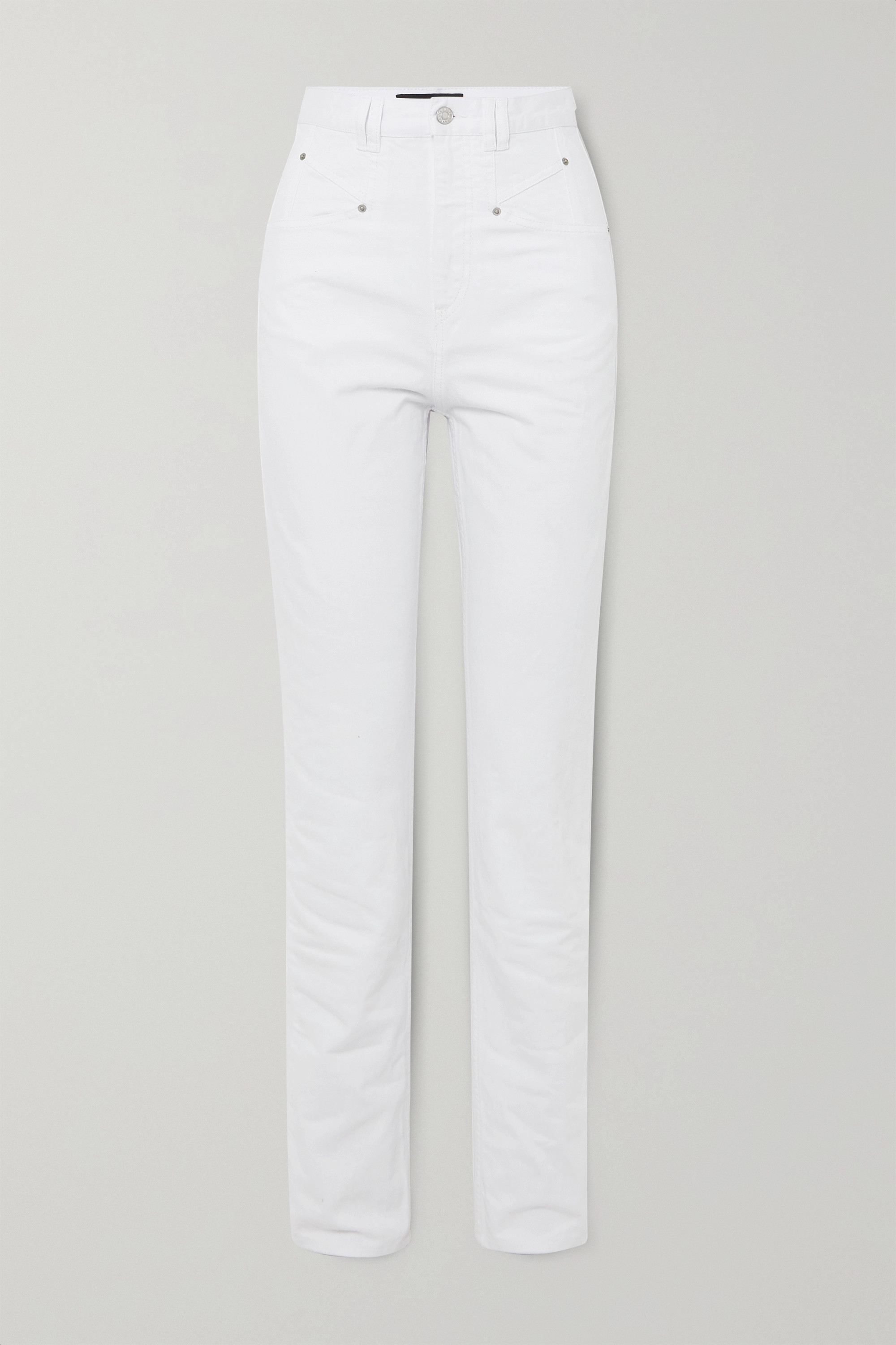 Isabel Marant Dominic high-rise straight-leg jeans