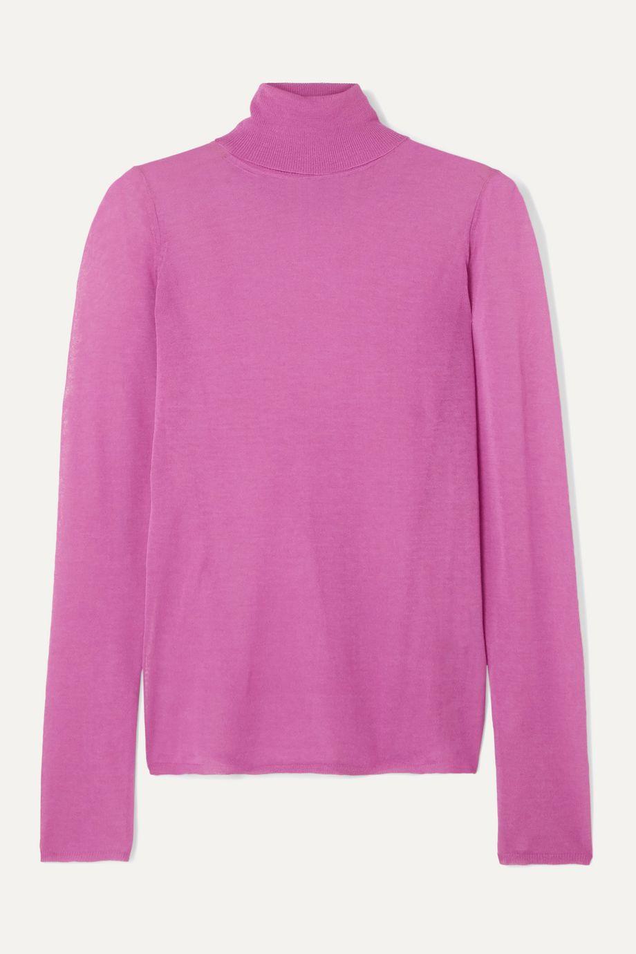 Isabel Marant Azale cotton-blend turtleneck sweater