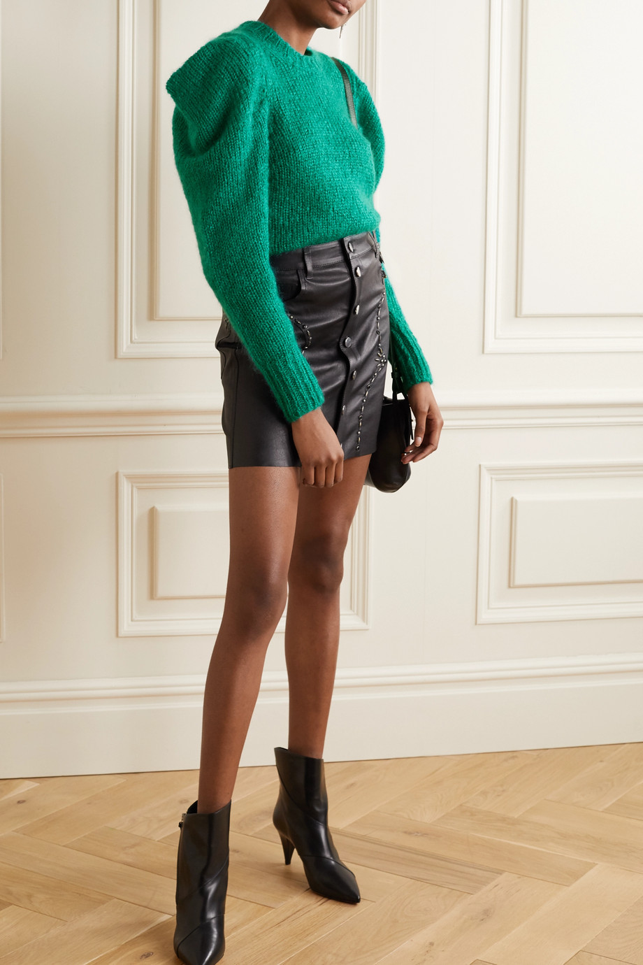 Isabel Marant Ivelyne mohair-blend sweater