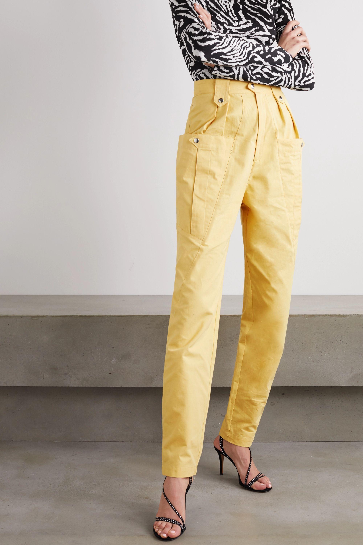 Isabel Marant Yerris cotton tapered pants