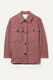 Isabel Marant Étoile Garvey herringbone wool-tweed jacket