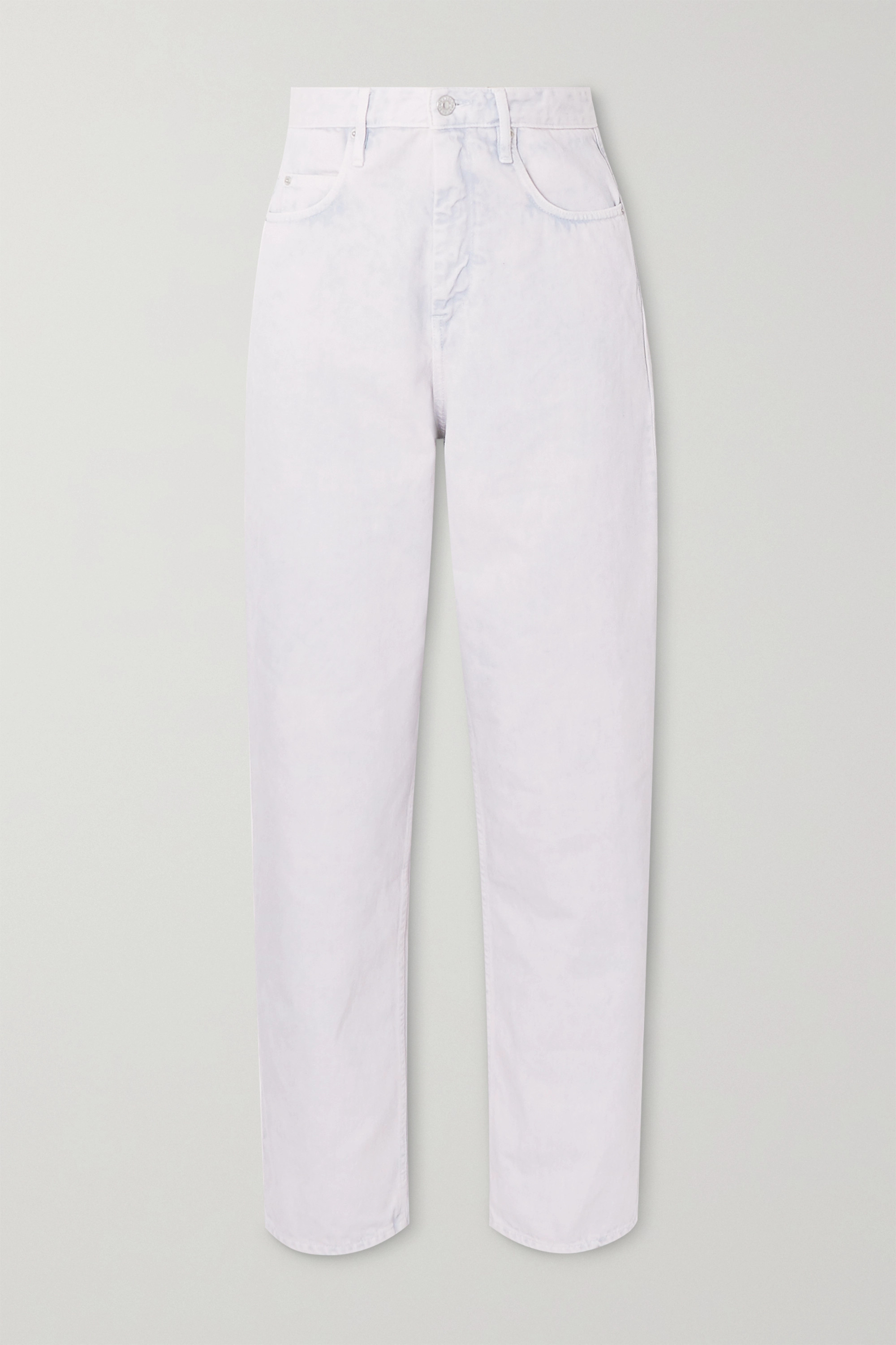 Isabel Marant Étoile Corsy high-rise tapered jeans