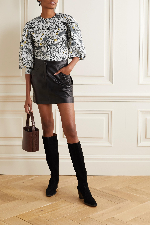 Isabel Marant Étoile Unatil floral-print cotton-voile blouse