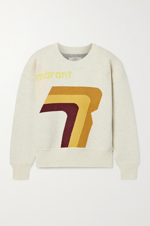 Isabel Marant Étoile Klero intarsia cotton-blend sweater