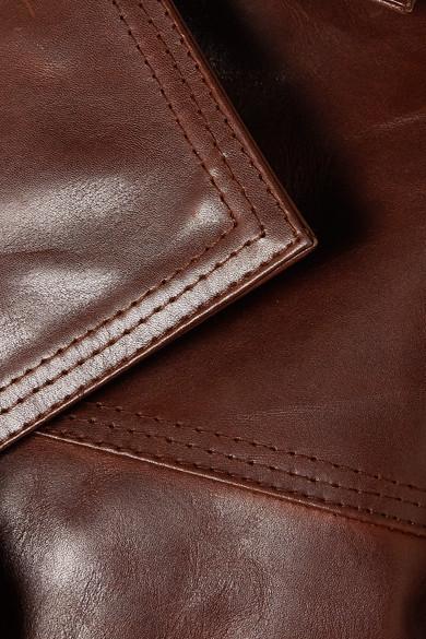oversized-leather-coat by ganni