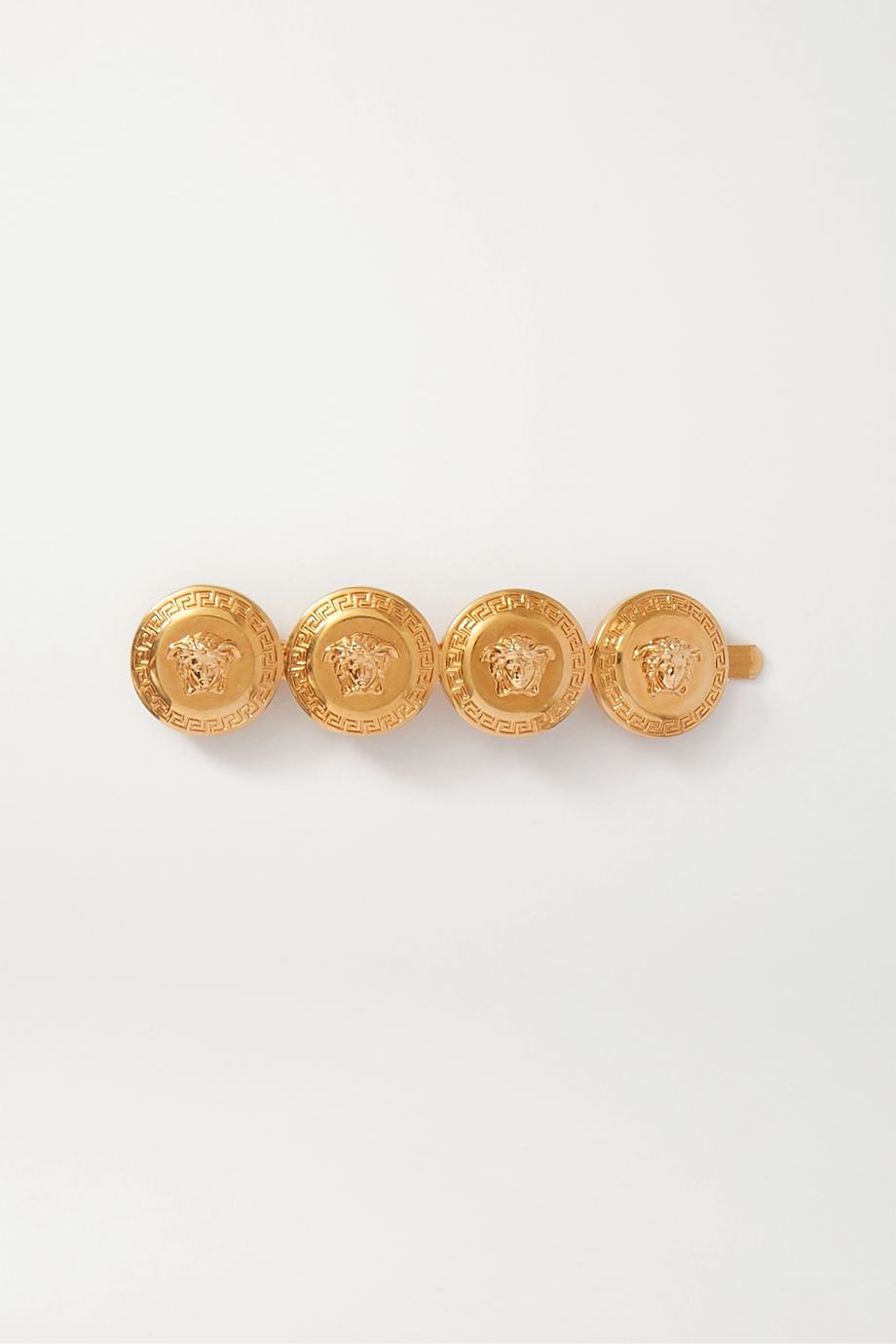 Versace Gold-tone hair slide