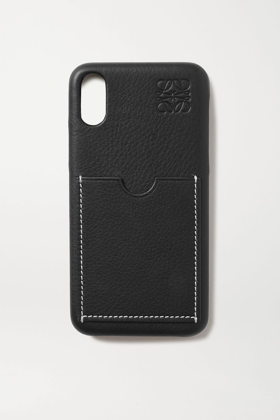 Loewe Textured-leather iPhone X case