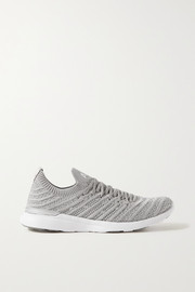 APL Athletic Propulsion Labs TechLoom Wave metallic mesh sneakers