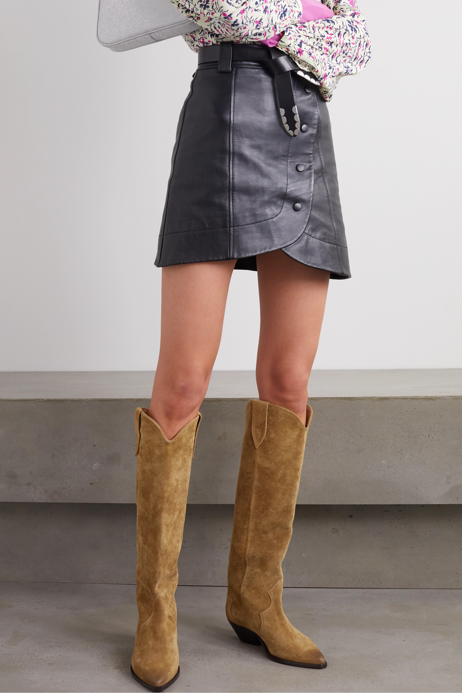 Denvee suede knee boots | Isabel Marant