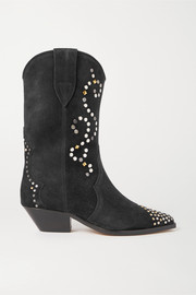Duerto studded suede boots