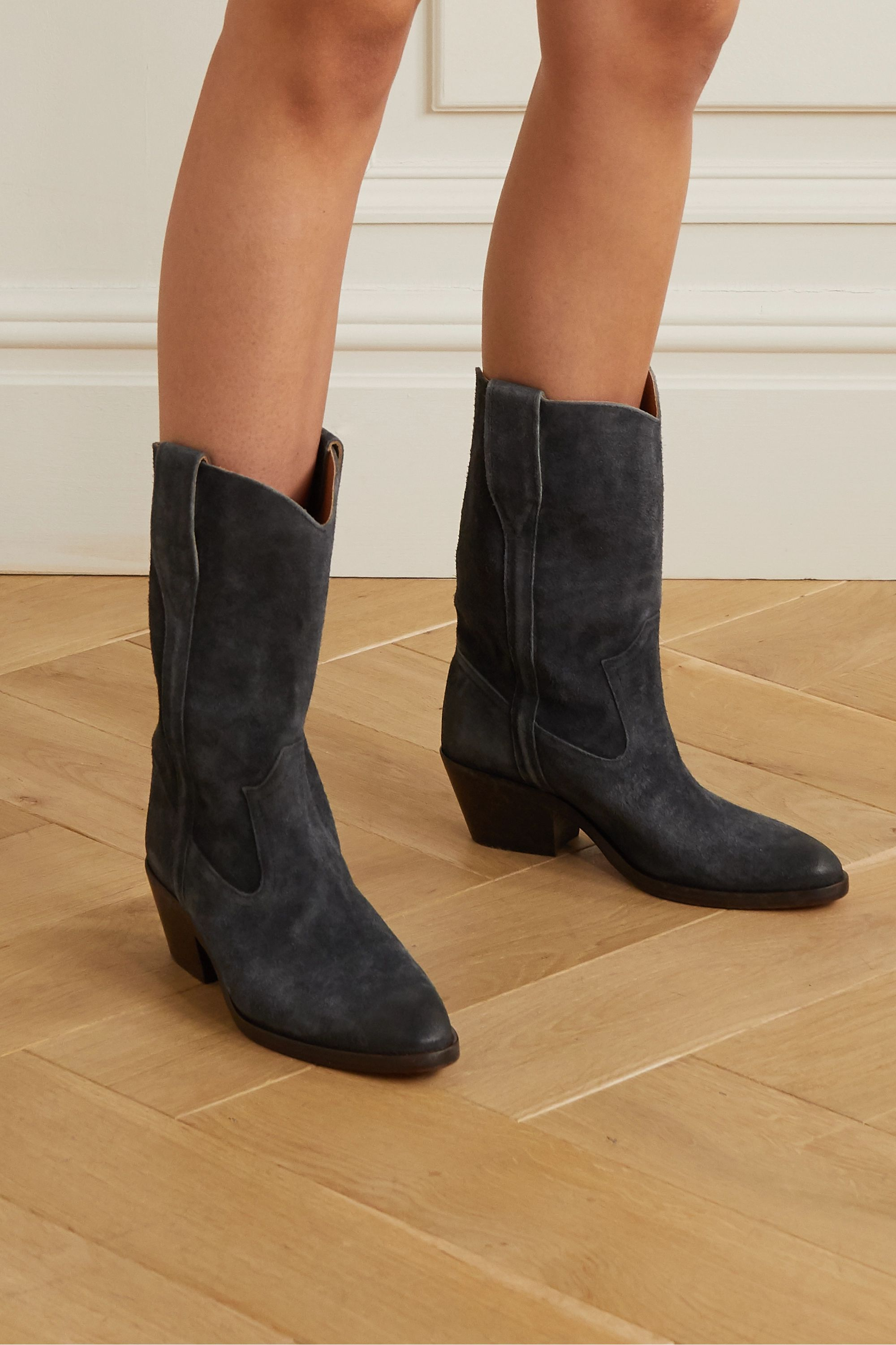 Isabel Marant Danta suede ankle boots