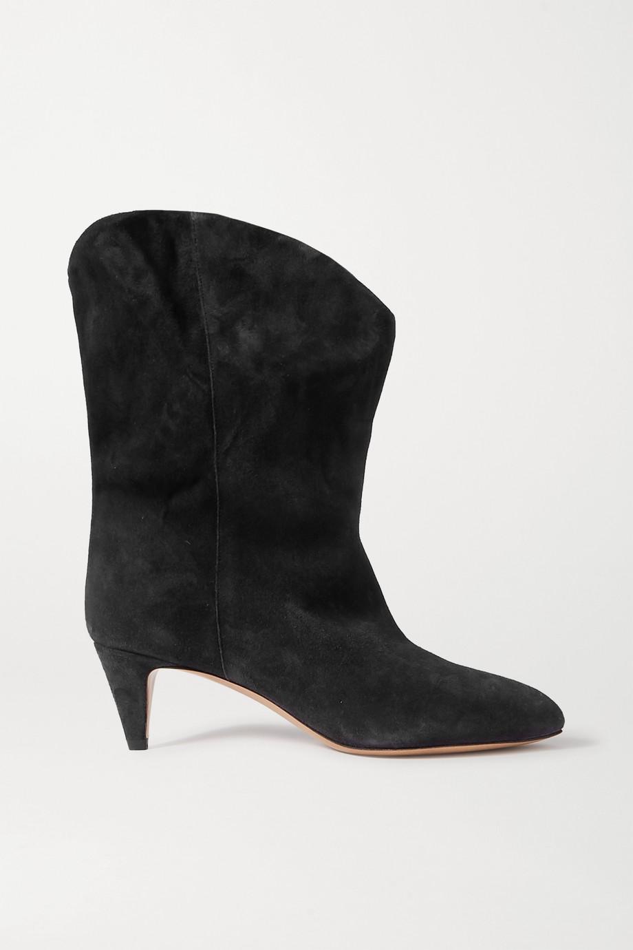 Isabel Marant Dernee 绒面革踝靴