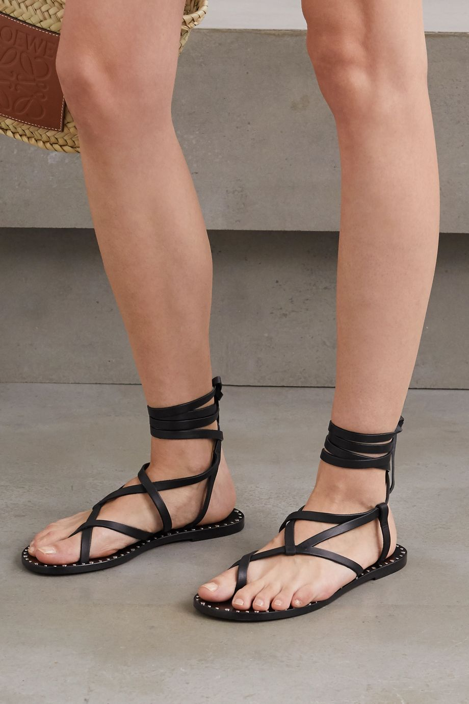 Isabel Marant Jesaro studded leather sandals