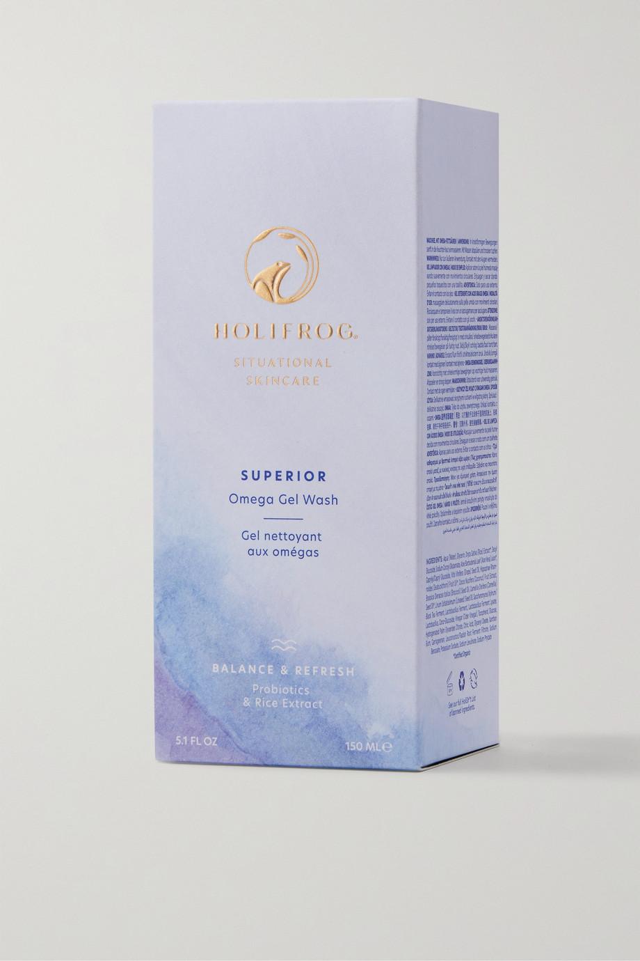 Holifrog Superior Omega Nutritive Gel Face Wash, 148 ml – Reinigungsgel