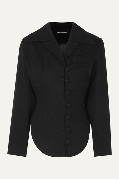 Cotton Twill Blazer by Lado Bokuchava