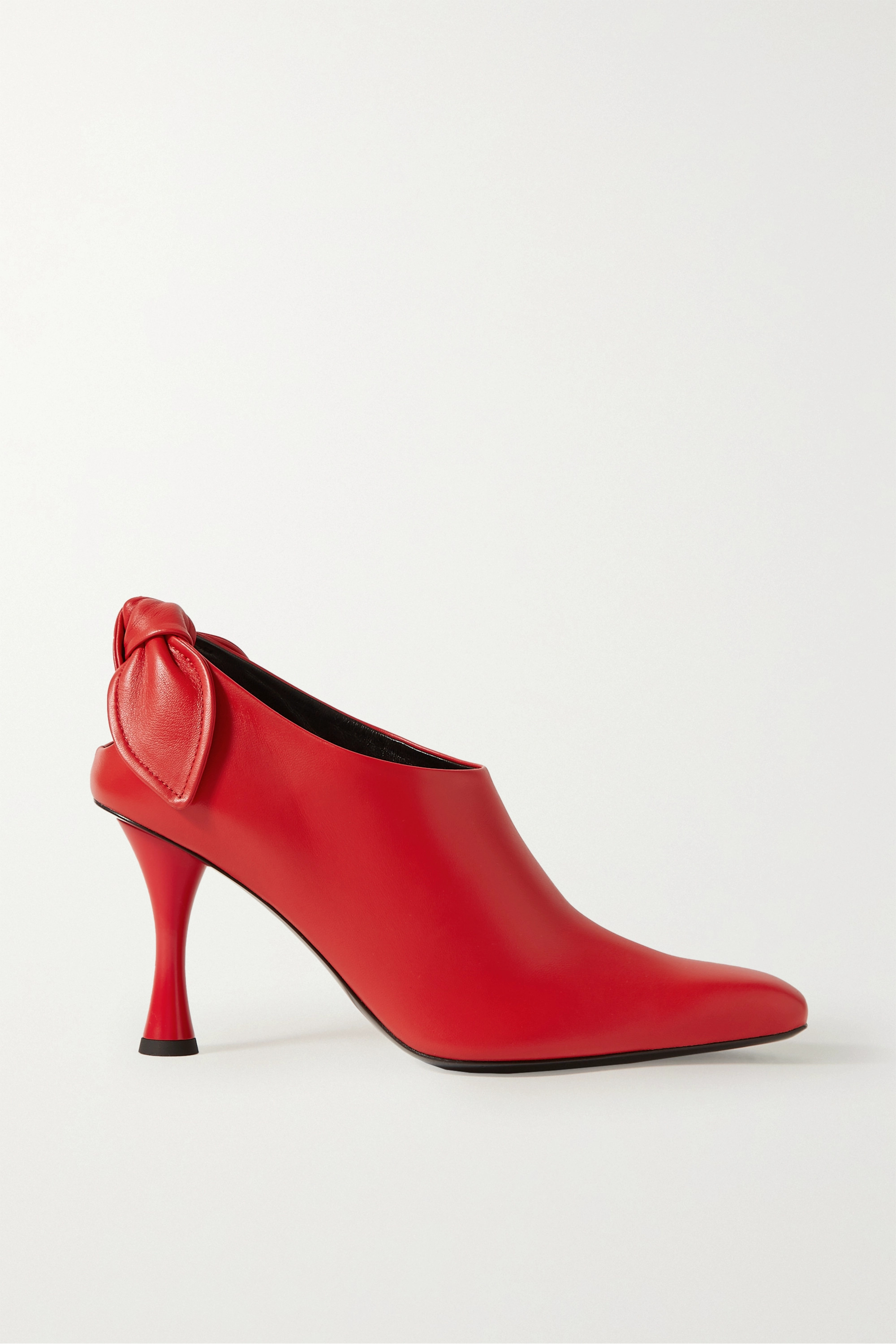 Proenza Schouler Knotted leather pumps