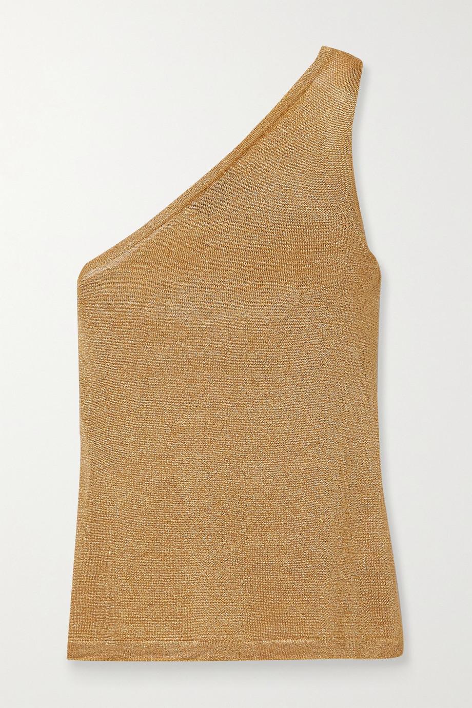 Missoni One-shoulder Lurex top