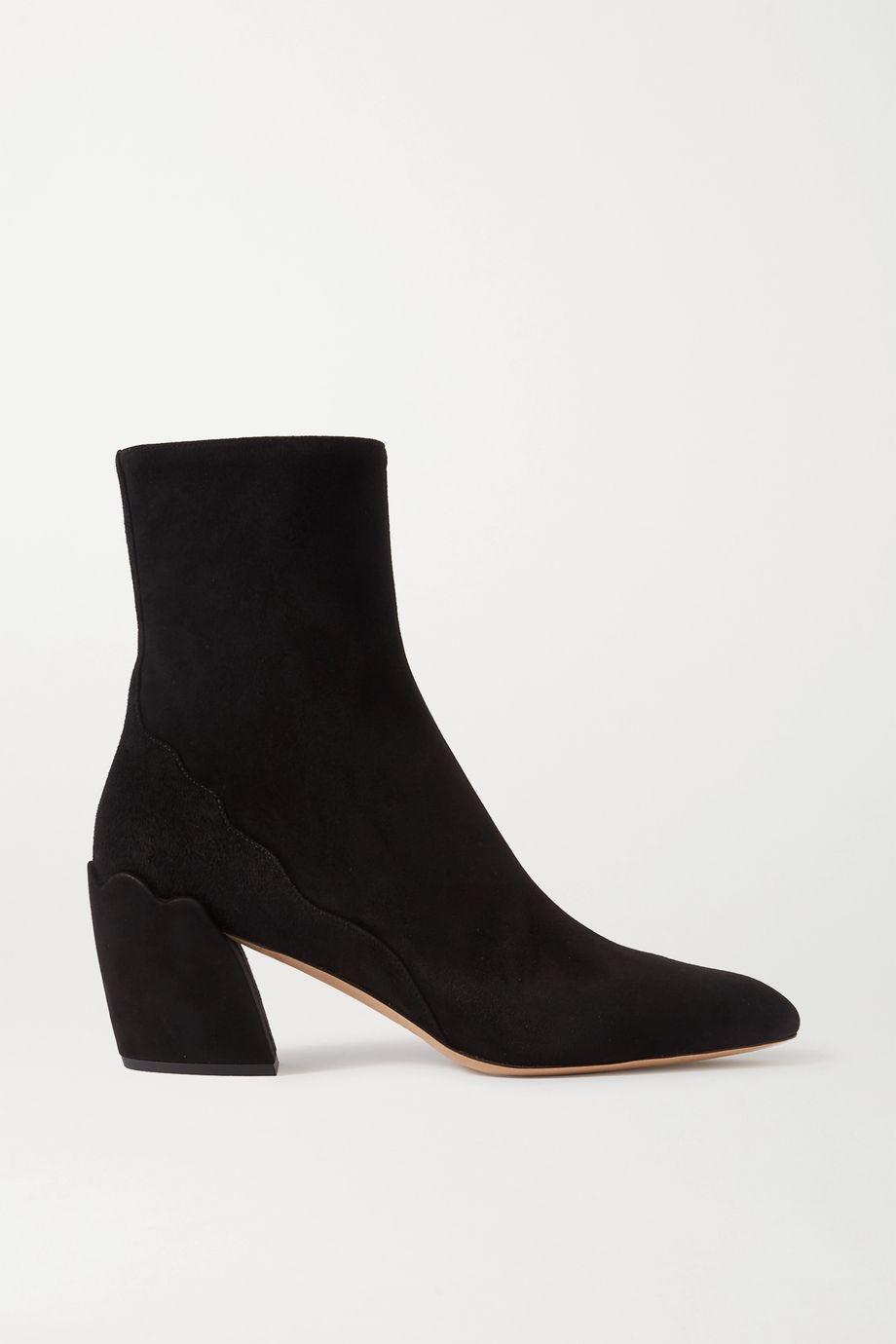 Chloé Lauren suede ankle boots