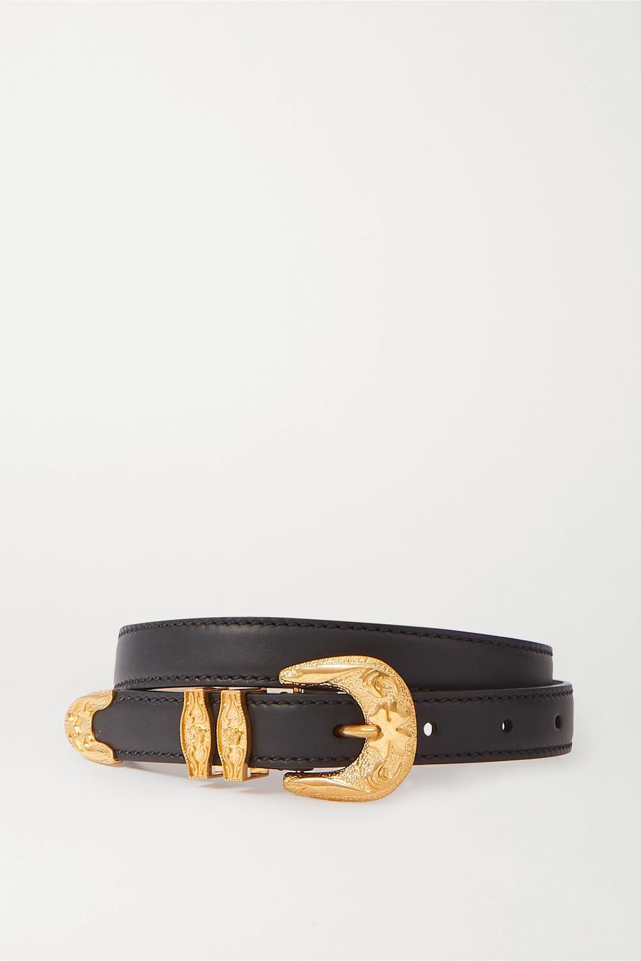 Versace Leather waist belt