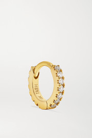 Maria Tash Mini 18-karat gold diamond earring