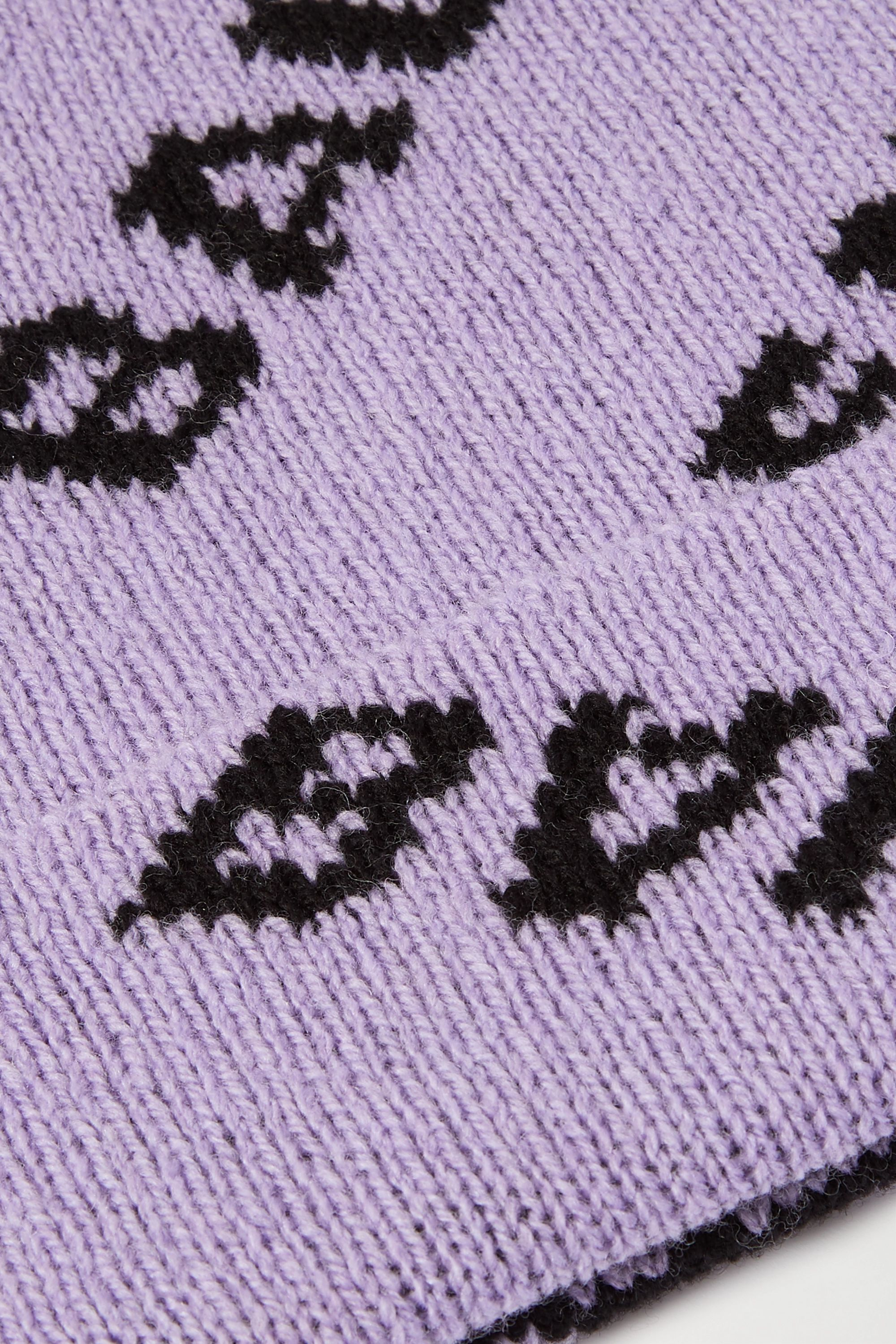 Balenciaga Bonnet en laine mélangée intarsia