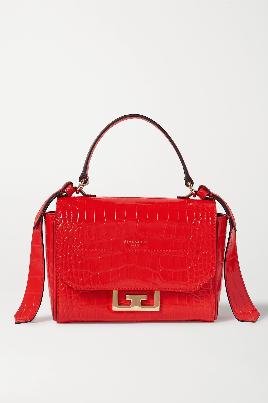 Givenchy Eden mini croc-effect leather shoulder bag