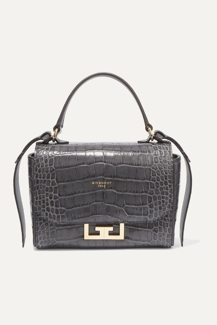 Givenchy Eden mini croc-effect leather shoulder bag