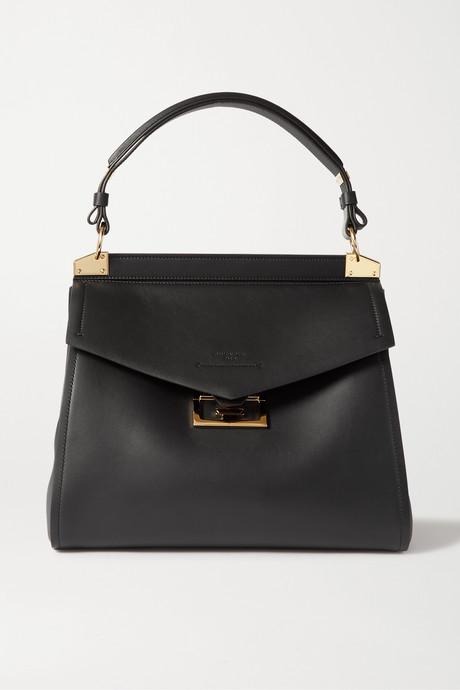 Black Mystic medium leather tote   Givenchy tLPvNv