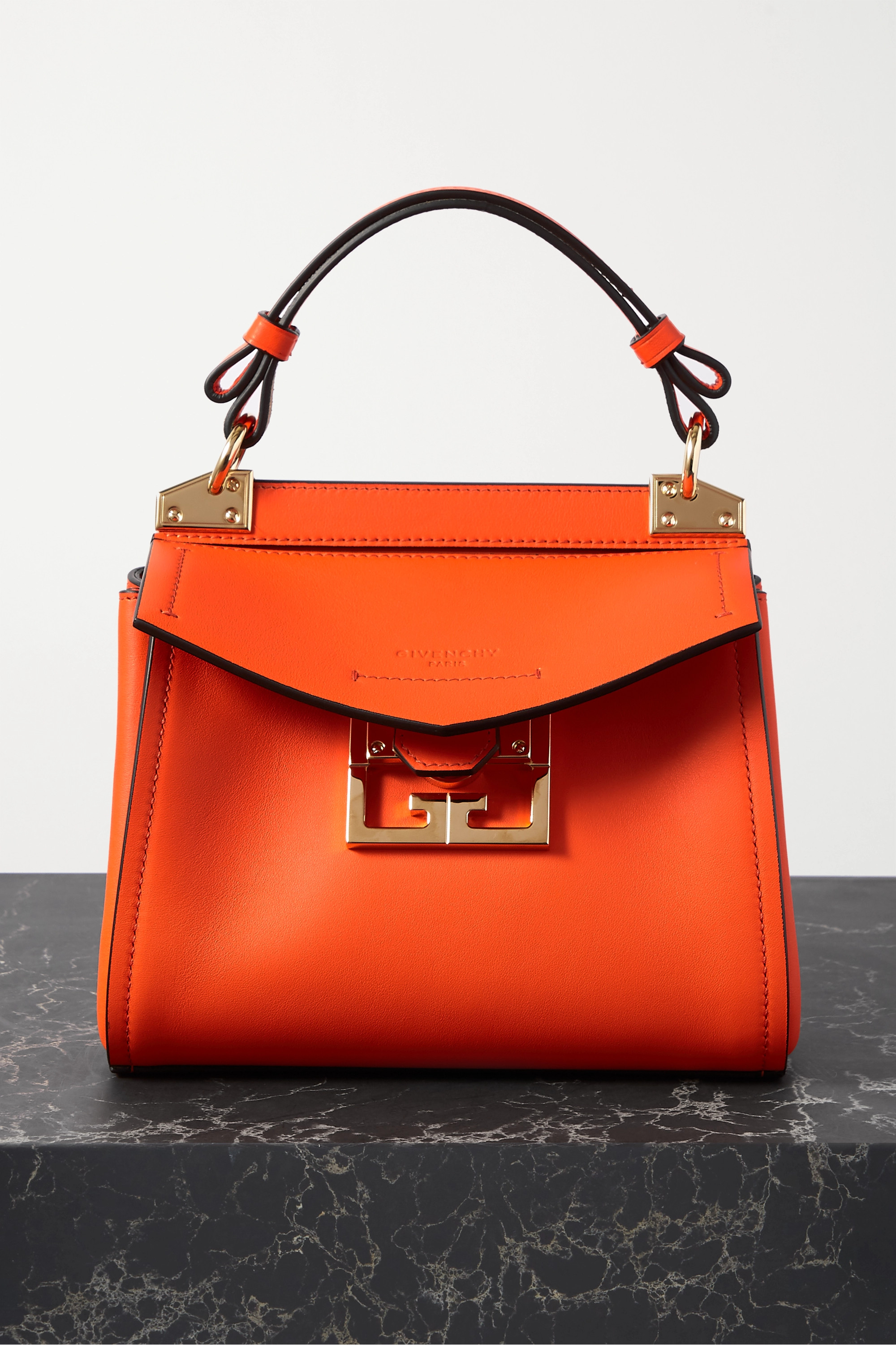Givenchy Mystic mini textured-leather tote