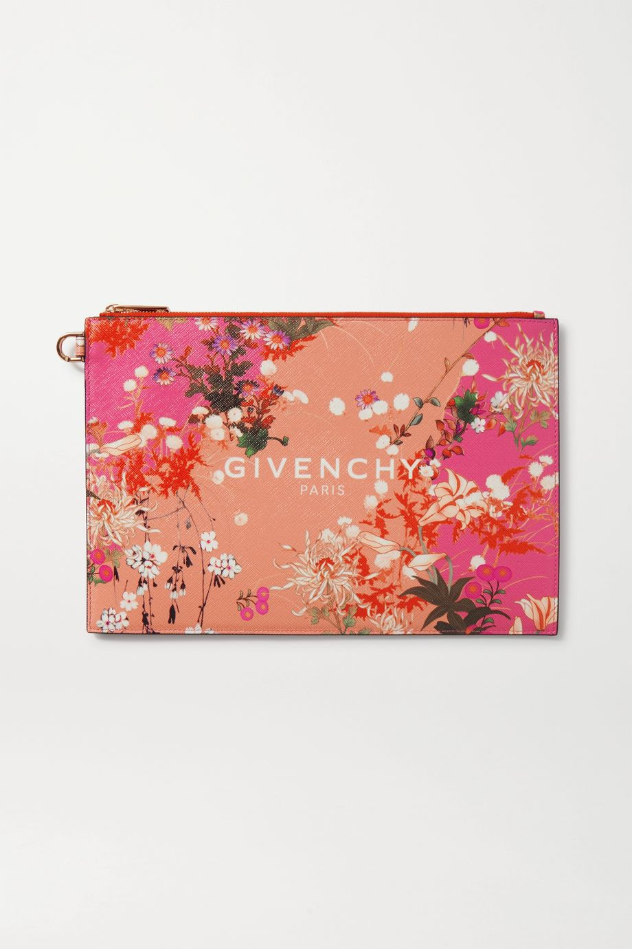 Givenchy Iconic medium floral-print coated-canvas pouch