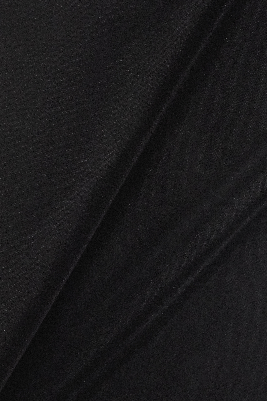 Givenchy Cotton-blend lace and velvet mini dress