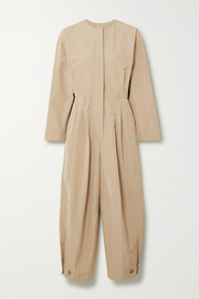 Givenchy Pleated taffeta jumpsuit