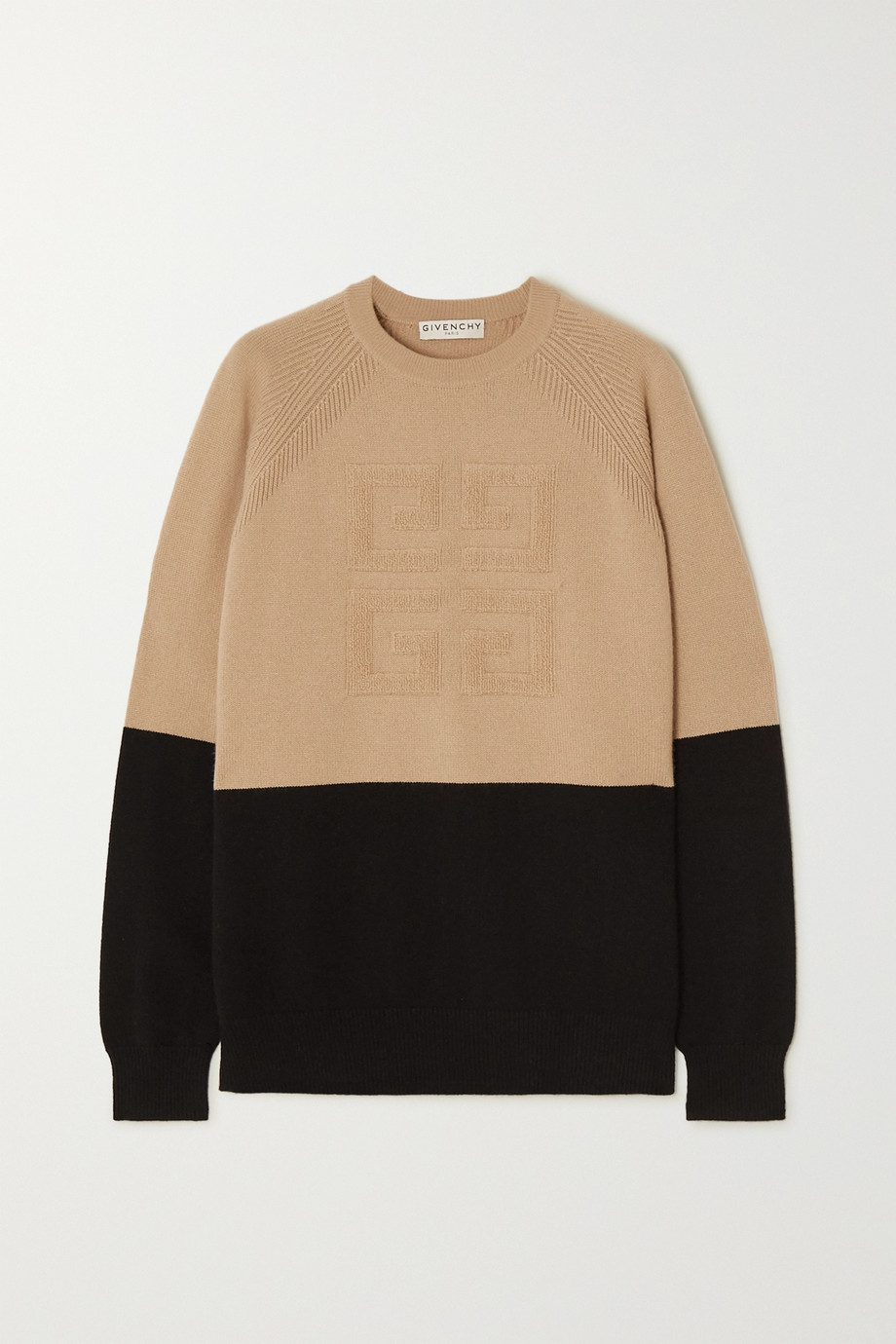 Givenchy Two-tone cashmere sweater