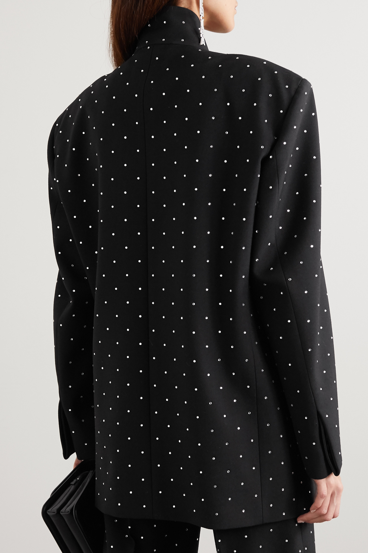 Balenciaga Oversized sequin-embellished wool-twill blazer
