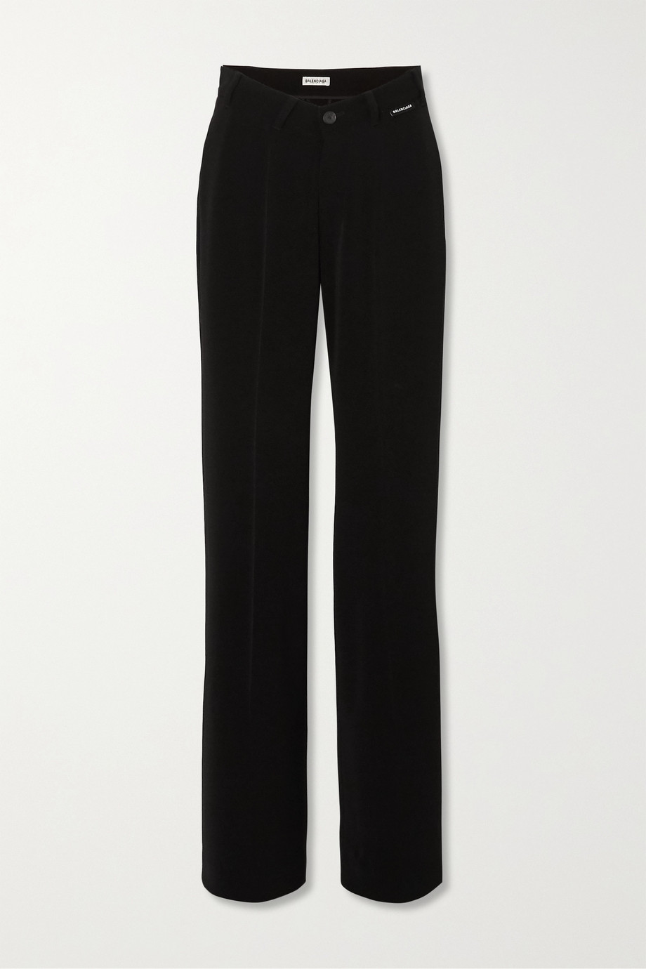Balenciaga Stretch-crepe straight-leg pants