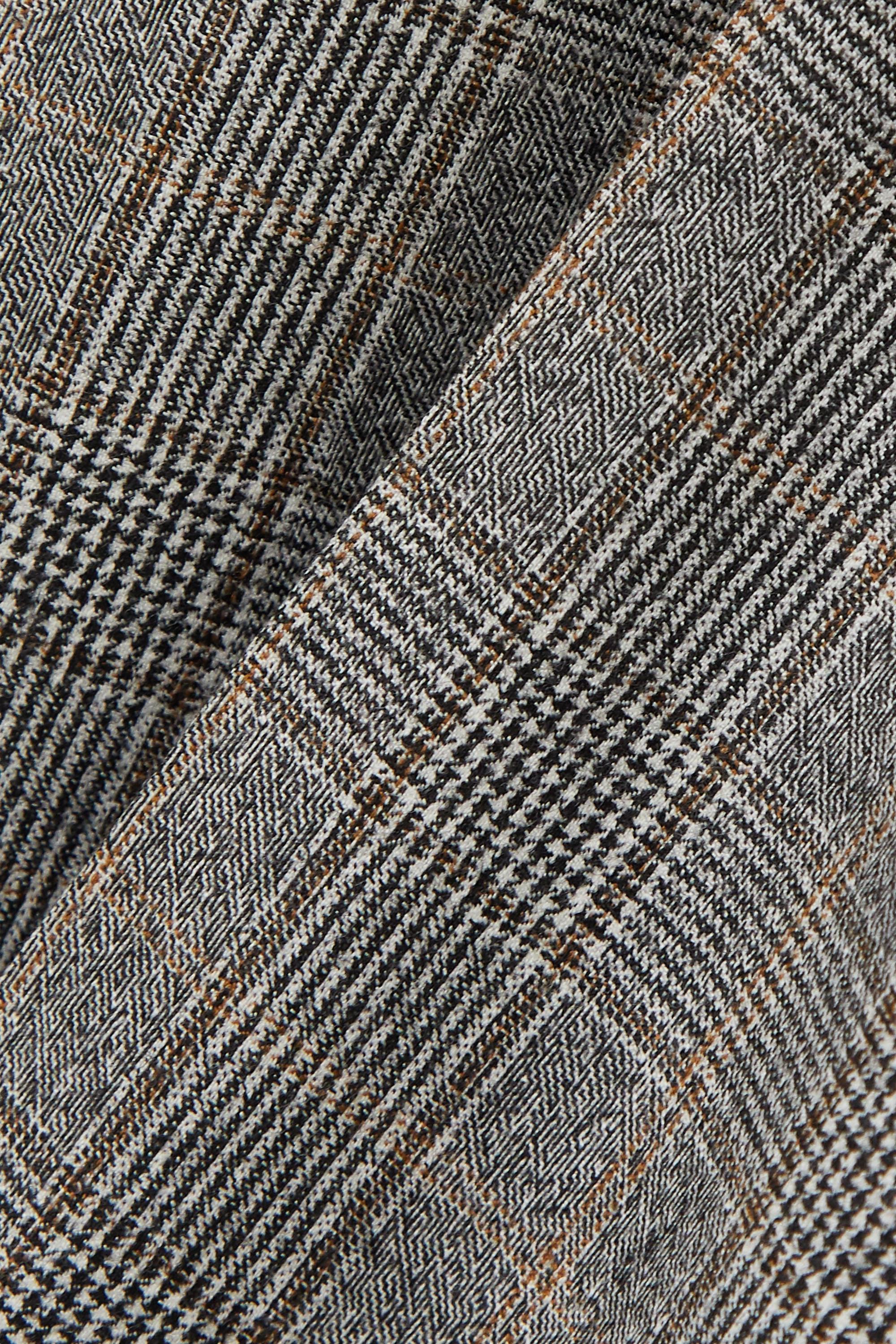 Balenciaga Prince of Wales checked wool straight-leg pants