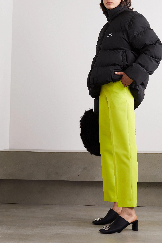 Balenciaga Neon twill straight-leg pants