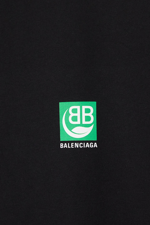 Balenciaga T-Shirt aus Baumwoll-Jersey mit Print