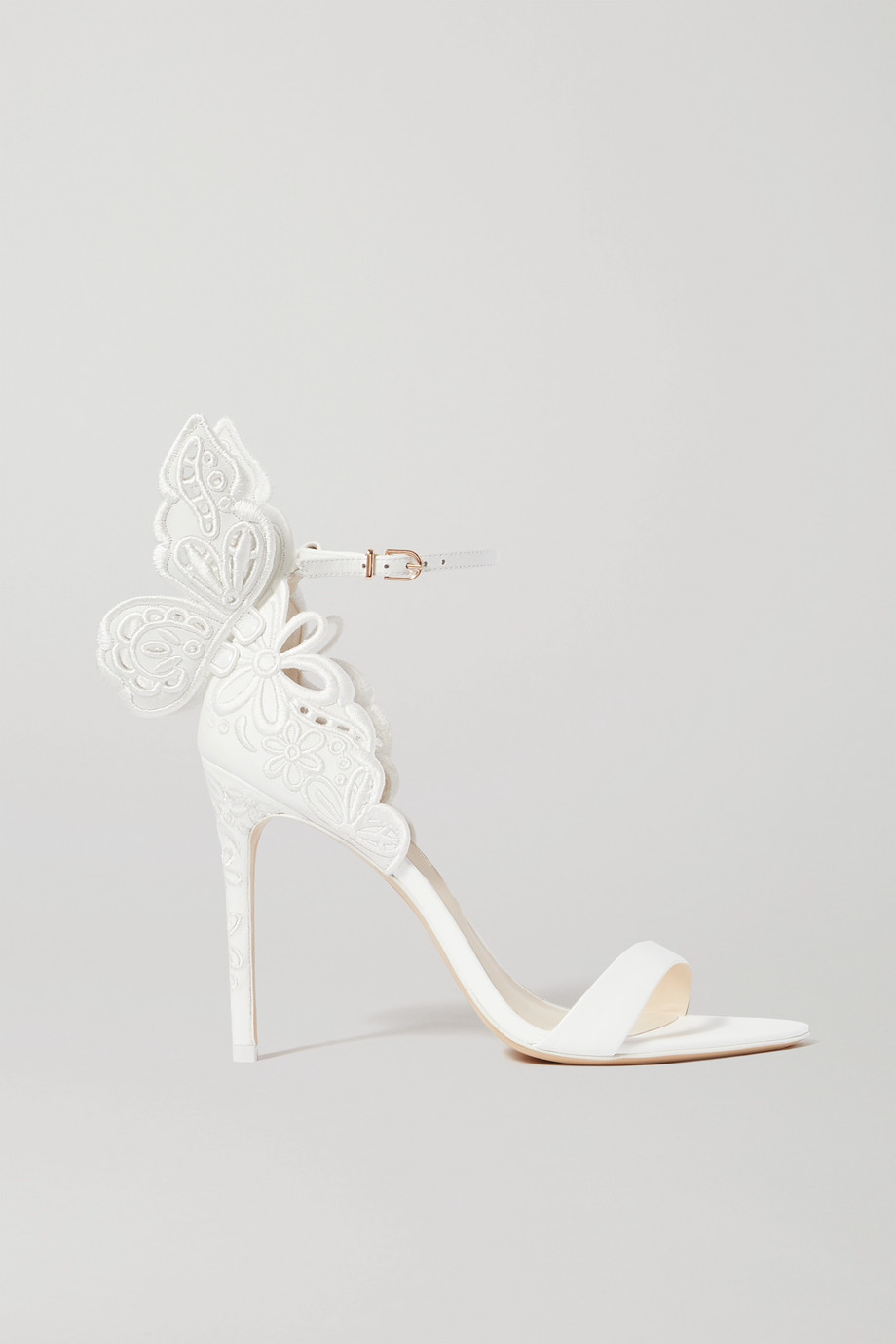 Sophia Webster Chiara embroidered leather sandals