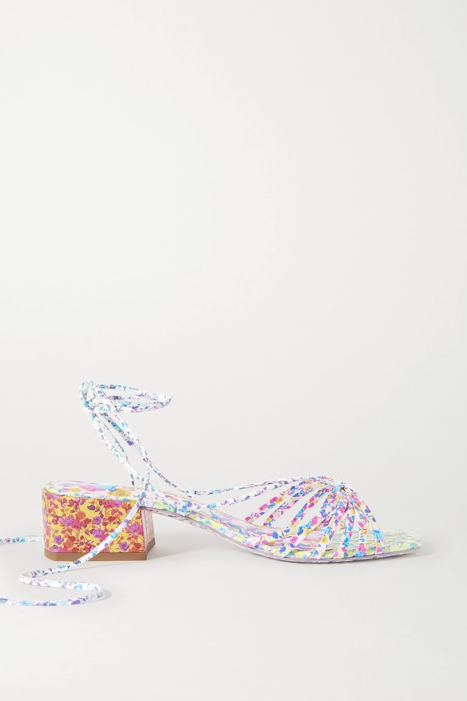 Sophia Webster Laurellie floral-print leather sandals