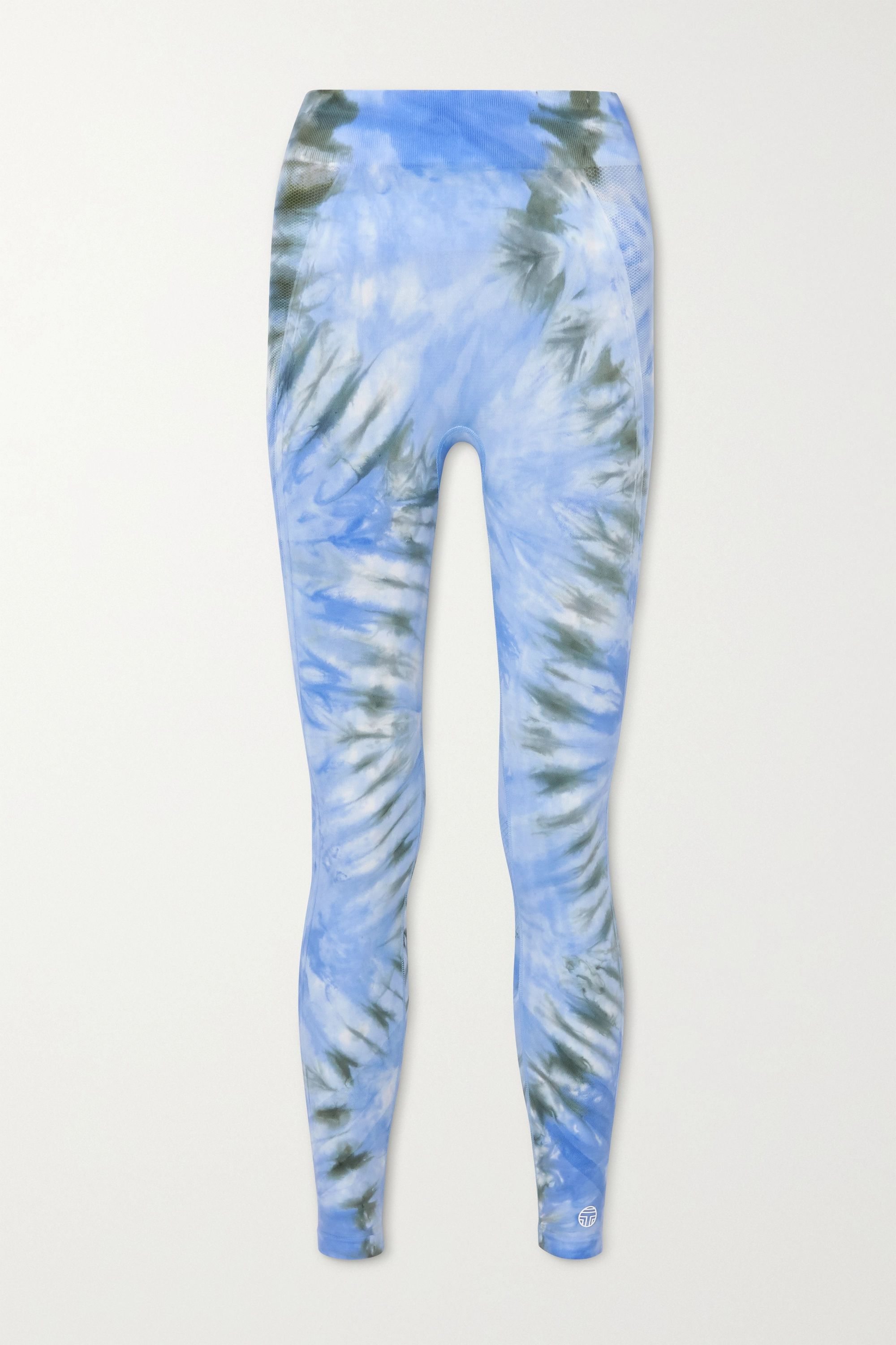 Tory Sport Tie-dyed stretch leggings