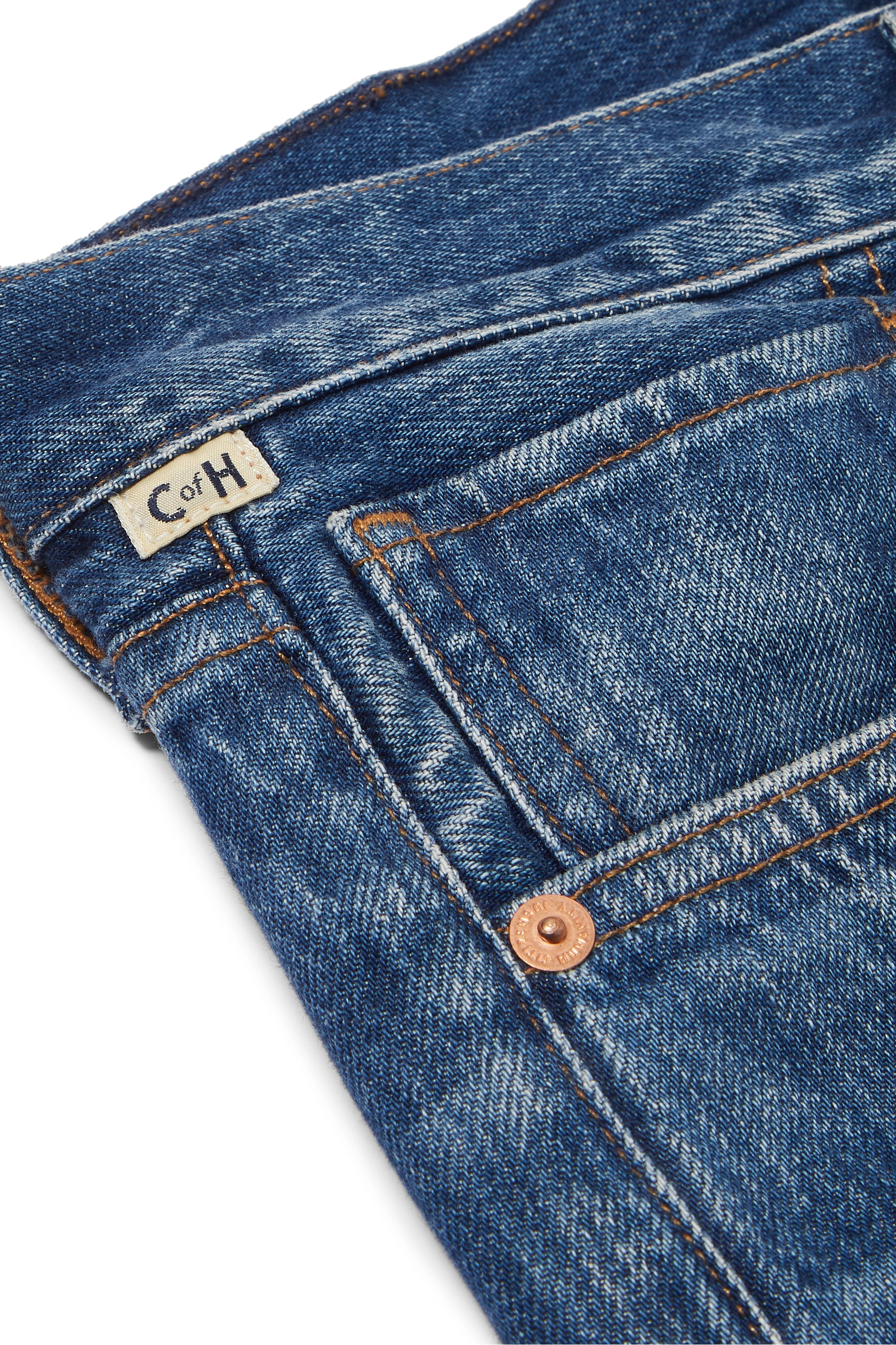 Mid Denim Charlotte High-rise Straight-leg Jeans | Citizens Of Humanity