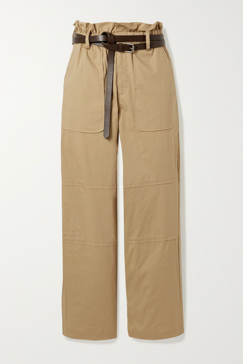 Sea Scott belted stretch-cotton cargo pants