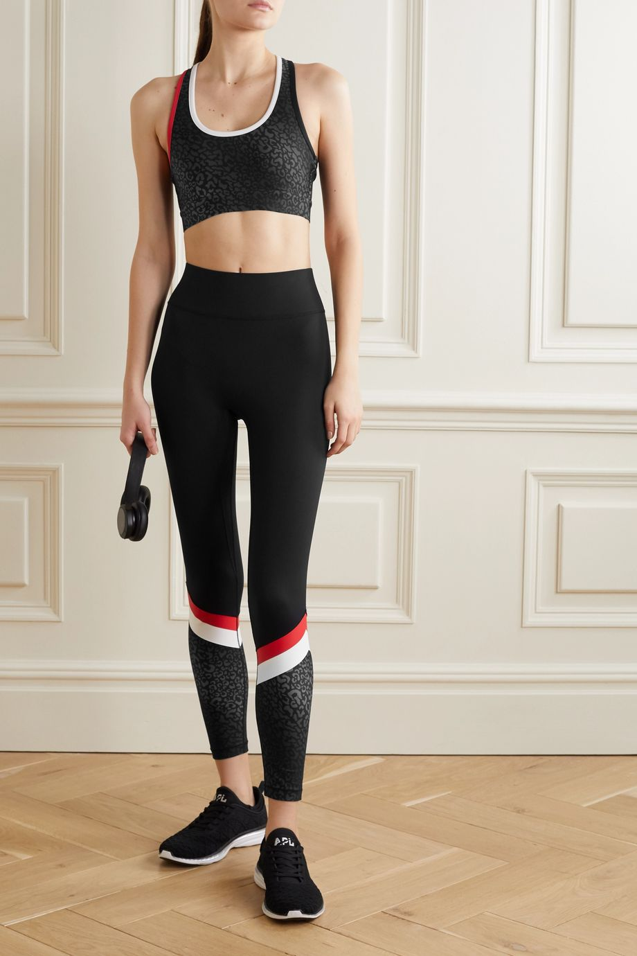 All Access Tour printed stretch leggings