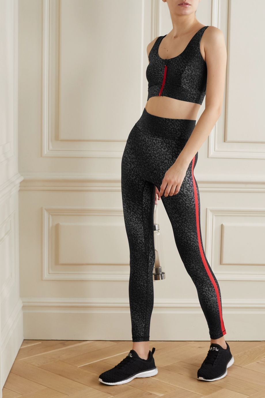 All Access Audio printed stretch leggings
