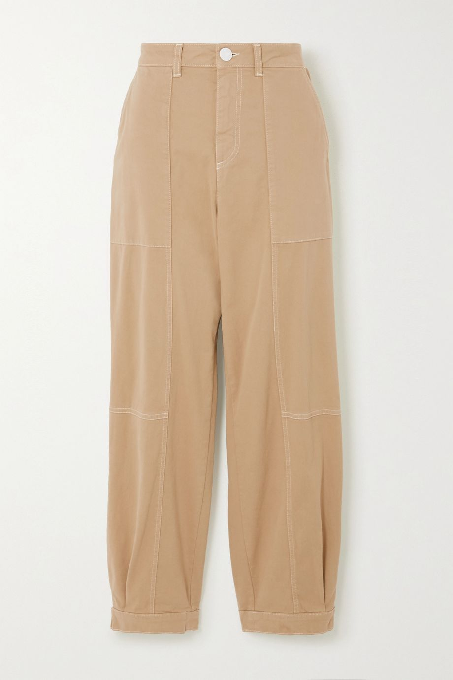 See By Chloé Cotton-blend gabardine pants